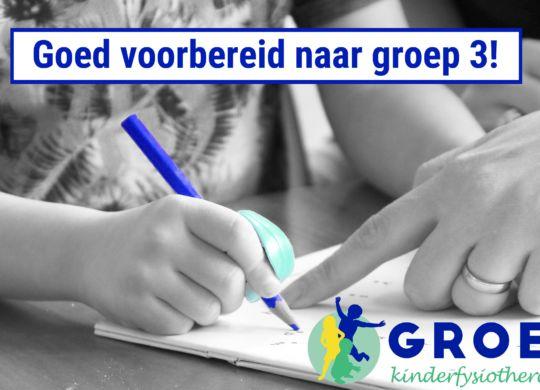 schrijfvaardigheid groep 3